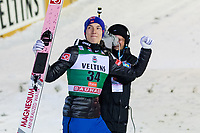 Hopp<br /> FIS World Cup<br /> November 2017<br /> Foto: Gepa/Digitalsport<br /> NORWAY ONLY<br /> <br /> KUUSAMO,FINLAND,26.NOV.17 - NORDIC SKIING, NORDIC COMBINED, SKI JUMPING - FIS World Cup, Ruka Nordic Opening, large hill, award ceremony. Image shows Johann Andre Forfang (NOR). Photo: GEPA pictures/ Matic Klansek