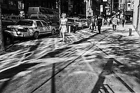 Eighth Avenue and 55th street, New York City.