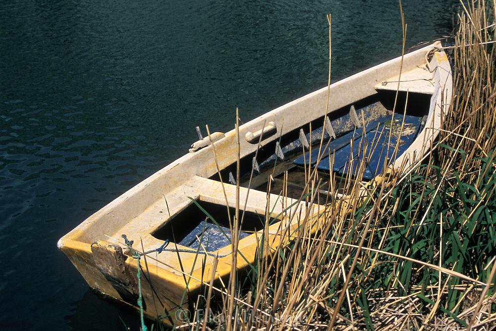 Rowboat at Makarska, Croatia