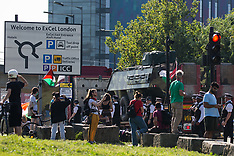 2021-09-08 Stop DSEI Arms Fair protests - Day 3