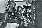 Berlin labourer and his family at home, c1900.