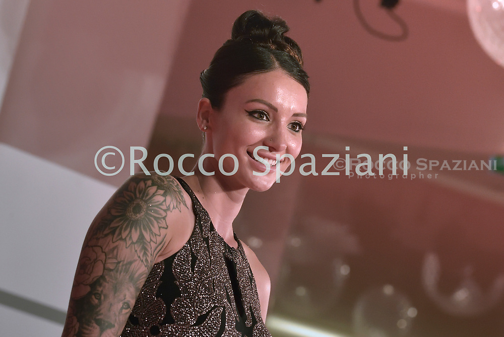 """VENICE, ITALY - SEPTEMBER 10: guest the red carpet ahead of the movie """"Run Hide Fight"""" at the 77th Venice Film Festival on September 10, 2020 in Venice, Italy.<br /> (Photo by Rocco Spaziani)"""