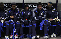 Photo: Paul Thomas.<br /> Bolton Wanderers v Chelsea. The Barclays Premiership. 29/11/2006.<br /> <br /> Shaun Wright-Phillips of Chelsea sits on the bench.