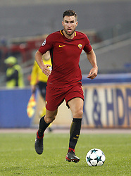 December 5, 2017 - Rome, Italy - Roma s Kevin Strootman in action during the Champions League Group C soccer match between Roma and Qarabag at the Olympic stadium. Roma won 1-0 to reach the round of 16. (Credit Image: © Riccardo De Luca/Pacific Press via ZUMA Wire)