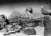 Pyramids and Sphinx - Giza Egypt