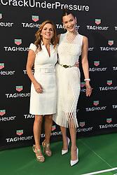 Geri Halliwell Horner and Model Bella Hadid attend the TAG Heuer event during the Formula 1 Grand Prix de Monaco on May 26, 2018 in Monaco, Monaco. Photo by Laurent Zabulon/ABACAPRESS.COM