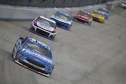 October 7, 2018 - Dover, Delaware, United States of America - Ricky Stenhouse, Jr (17) battles for position during the Gander Outdoors 400 at Dover International Speedway in Dover, Delaware. (Credit Image: © Justin R. Noe Asp Inc/ASP via ZUMA Wire)