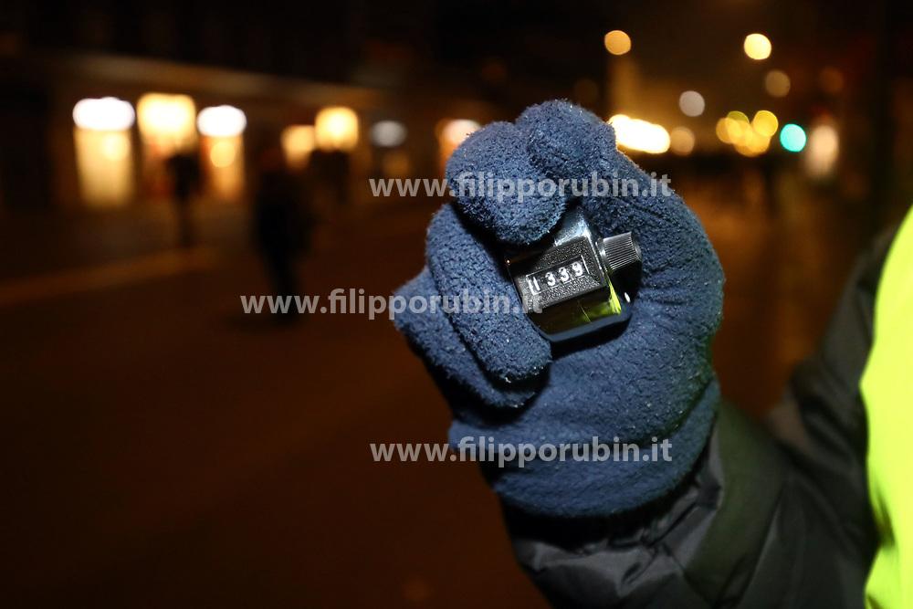 CONTROLLI DI SICUREZZA CONTEGGIO PERSONE<br /> CAPODANNO A FERRARA 2019