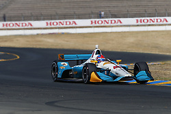 September 14, 2018 - Sonoma, California, United Stated - COLTON HERTA (88) of the United States takes to the track to practice for the Indycar Grand Prix of Sonoma at Sonoma Raceway in Sonoma, California. (Credit Image: © Justin R. Noe Asp Inc/ASP via ZUMA Wire)