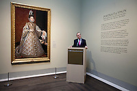 Media tour of paintings from the Prado at the Museum of Fine Arts Houston.
