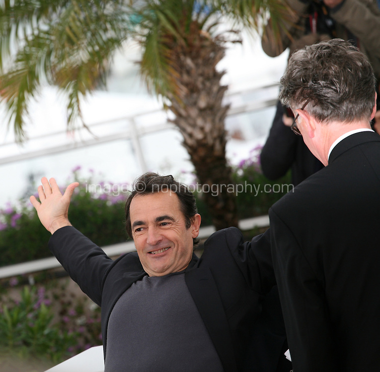 Actor Albert Dupontel, at Le Grand Soir photocall at the 65th Cannes Film Festival France. Tuesday 22nd May 2012 in Cannes Film Festival, France.