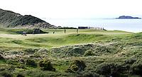 PORTRUSH - Hole 5.  ROYAL PORTRUSH GOLF CLUB. The Dunluce Championship Course.COPYRIGHT KOEN SUYK