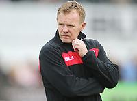 Rugby Union - 2017 / 2018 Aviva Premiership - Saracens vs. Wasps<br /> <br /> Saracens coach Mark McCall at Allianz Park.<br /> <br /> COLORSPORT/ANDREW COWIE