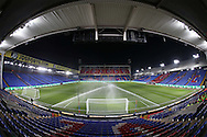 a General view of inside Selhurst Park a few hours before k/o. Emirates FA Cup 3rd round replay match, Crystal Palace v Bolton Wanderers at Selhurst Park in London on Tuesday 17th January 2017.<br /> pic by John Patrick Fletcher, Andrew Orchard sports photography.
