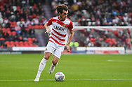 John Marquis of Doncaster Rovers (9) in action during the EFL Sky Bet League 1 match between Doncaster Rovers and Gillingham at the Keepmoat Stadium, Doncaster, England on 20 October 2018.
