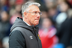 March 9, 2019 - Nottingham, England, United Kingdom - Hull City Manager Nigel Adkins during the Sky Bet Championship match between Nottingham Forest and Hull City at the City Ground, Nottingham on Saturday 9th March 2019. (Credit Image: © Jon Hobley/NurPhoto via ZUMA Press)
