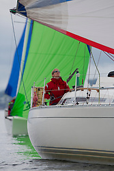 Largs Regatta Week 2015, hosted by Largs Sailing Club and Fairlie Yacht Club<br /> <br /> GBR4607, Leaky Roof 2, Sigma 33, Alan Harper<br /> <br /> Credit Marc Turner