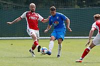 John Rooney. Stockport County 0-2 Fleetwood Town. Pre-Season Friendly. 15.8.20