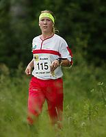 Orientering, 21. juni 2002. NM sprint. Kristin Øverøyen, Tyrving.