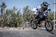 #96 (WALKER Sarah) NZL at round 8 of the 2018 UCI BMX Supercross World Cup in Santiago del Estero, Argentina.