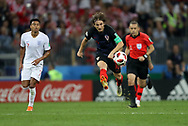 Luka Modric of Croatia during the 2018 FIFA World Cup Russia, semi-final football match between Croatia and England on July 11, 2018 at Luzhniki Stadium in Moscow, Russia - Photo Tarso Sarraf / FramePhoto / ProSportsImages / DPPI