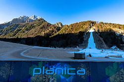 at preparation of Planica Hill 2 weeks before FIS Ski Flying World Championships 2020, on November 25, 2020 in Planica, Slovenia. Photo by Matic Klansek Velej / Sportida