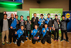 Team Japan during Closing ceremony at Day 4 of 16th Slovenia Open - Thermana Lasko 2019 Table Tennis for the Disabled, on May 11, 2019, in Thermana Lasko, Lasko, Slovenia. Photo by Vid Ponikvar / Sportida