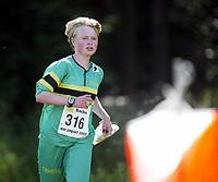 Orientering, 21. juni 2002. NM sprint. Marianne Andersen, NTNUI.