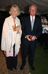 MR & MRS GERALD WARD he is Prince Williams Godfather at the annual Chelsea Flower Show dinner hosted by jewellers Cartier at the Chelsea Pysic Garden, London on 22nd May 2006.<br /><br />NON EXCLUSIVE - WORLD RIGHTS