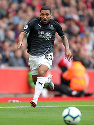 """Burnley's Aaron Lennon during the Premier League match at St Mary's, Southampton. PRESS ASSOCIATION Photo. Picture date: Sunday August 12, 2018. See PA story SOCCER Southampton. Photo credit should read: Andrew Matthews/PA Wire. RESTRICTIONS: EDITORIAL USE ONLY No use with unauthorised audio, video, data, fixture lists, club/league logos or """"live"""" services. Online in-match use limited to 120 images, no video emulation. No use in betting, games or single club/league/player publications."""