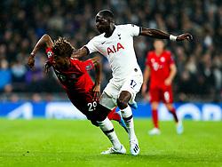 Kingsley Coman of Bayern Munich and Moussa Sissoko of Tottenham Hotspur - Rogan/JMP - 01/10/2019 - FOOTBALL - Tottenham Hotspur Stadium - London, England - Tottenham Hotspur v Bayern Munich - UEFA Champions League Group B.