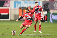 Leigh Halfpenny - 28.12.2014 - Stade Francais / Racing Club Toulon - 14eme journee de Top 14<br />Photo : Aurelien Meunier / Icon Sport