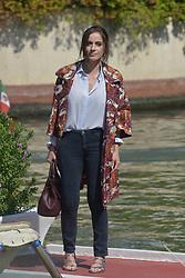 75th Venice Film Festival, Celebrity Sightings. 03 Sep 2018 Pictured: Chiara Iezzi. Photo credit: KILPIN / MEGA TheMegaAgency.com +1 888 505 6342