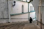 Orthodox Priest on his way to prayer, Kiev Pechersk Lavra Monastery