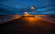 San Clemente Municipal Pier At Night