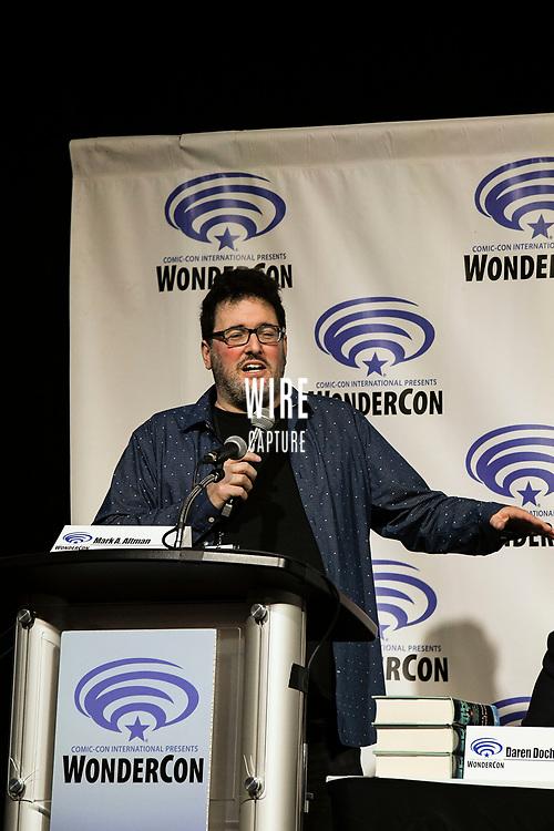 Mark A. Altman at Wondercon in Anaheim Ca. March 31, 2019