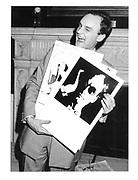 Nicholas Coleridge at his book launch party. 1982. © Copyright Photograph by Dafydd Jones 66 Stockwell Park Rd. London SW9 0DA Tel 020 7733 0108 www.dafjones.com
