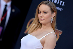 Brie Larson attends the World Premiere of Avengers: Infinity War on April 23, 2018 in Los Angeles, CA, USA. Photo by Lionel Hahn/ABACAPRESS.COM