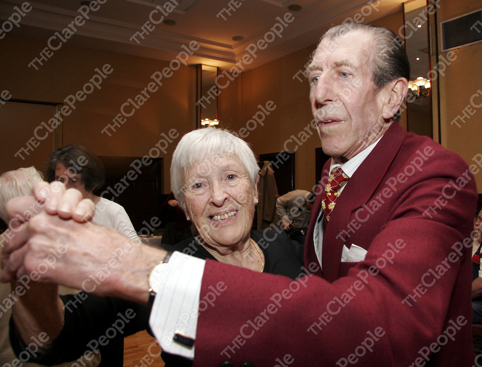 Colm and Winnifred Smith are old pro's in the dancing scene as they enjoy a night of 'Dancing for Pleasure' at the Clare Inn which takes place every Sunday night.<br /> <br /> Photograph by Yvonne Vaughan.