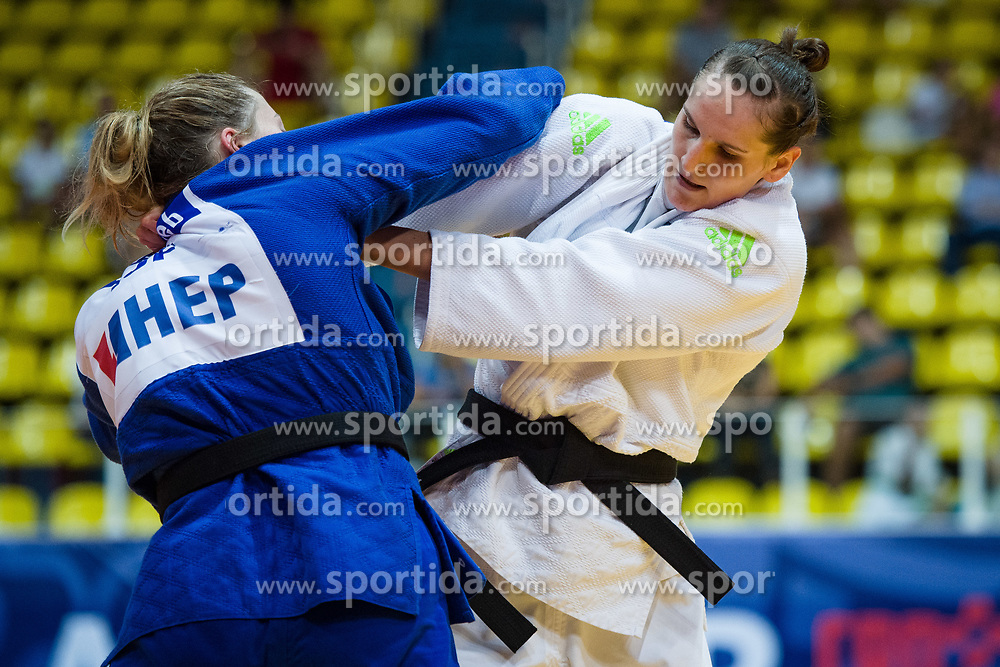 APOTEKAR Klara of Slovenia competes on July 28, 2019 at the IJF World Tour, Zagreb Grand Prix 2019, in Dom Sportova, Zagreb, Croatia. Photo by SPS / Sportida