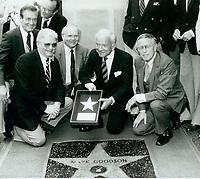 1982 Mark Goodson's Walk of Fame ceremony