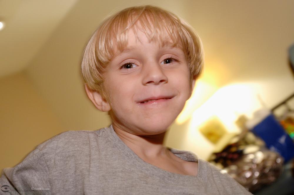 prtrait of a boy age 5