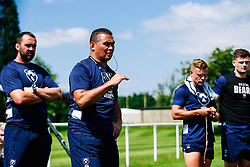 Pat Lam in action during week 1 of Bristol Bears pre-season training ahead of the 19/20 Gallagher Premiership season - Rogan/JMP - 03/07/2019 - RUGBY UNION - Clifton Rugby Club - Bristol, England.