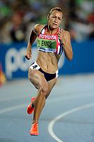 ATHLETICS - IAAF WORLD CHAMPIONSHIPS 2011 - DAEGU (KOR) - DAY 3 - 29/08/2011 - PHOTO : STEPHANE KEMPINAIRE / KMSP / DPPI - <br /> 200 M - HEPTATHLON - JESSICA ENNIS (GBR)