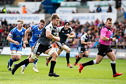 Olly Cracknell of Ospreys<br /> <br /> Photographer Simon King/Replay Images<br /> <br /> Guinness PRO14 Round 18 - Ospreys v Dragons - Saturday 23rd March 2019 - Liberty Stadium - Swansea<br /> <br /> World Copyright © Replay Images . All rights reserved. info@replayimages.co.uk - http://replayimages.co.uk