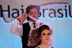Show Spanish Forecast por Charbel Chelala na HAIR BRASIL 2012 - 12 ª Feira Internacional de Beleza, Cabelos e Estética, que acontece de 24 a 27 de março no Expocenter Norte, em São Paulo. FOTO: Jefferson Bernardes/Preview.com