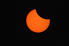 Solar Eclipse of the Sun 2017 August 21 in Farewell Bend State Park Oregon