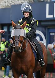 Police on horseback outside the stadium - Mandatory by-line: Arron Gent/JMP - 05/10/2019 - FOOTBALL - The Den - London, England - Millwall v Leeds United - Sky Bet Championship