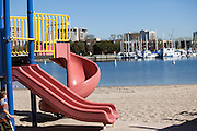 Mother's Beach at the Marina Del Rey Harbor