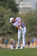 Sergio Garcia (ESP) on the 3rd fairway during Round 2 of the Omega Dubai Desert Classic, Emirates Golf Club, Dubai,  United Arab Emirates. 25/01/2019<br /> Picture: Golffile   Thos Caffrey<br /> <br /> <br /> All photo usage must carry mandatory copyright credit (© Golffile   Thos Caffrey)